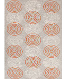 RugStudio presents Jaipur Rugs Grant Design I-O Discus Gd20 Dusty Blue Hand-Hooked Area Rug