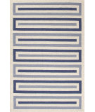 RugStudio presents Jaipur Rugs Grant I-O Bars Gd23 Pale Gray Hand-Hooked Area Rug