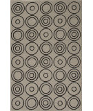 RugStudio presents Jaipur Rugs Grant I-O Target Gd29 Light Smoke Gray Hand-Hooked Area Rug