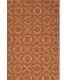 RugStudio presents Jaipur Rugs Grant I-O Xoxo Gd30 Terracotta Woven Area Rug