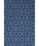RugStudio presents Jaipur Rugs Grant I-O Xoxo Gd31 True Navy Woven Area Rug