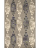 RugStudio presents Jaipur Rugs Grant I-O Pods Gd36 Gray Hand-Hooked Area Rug