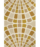 RugStudio presents Jaipur Rugs Grant I-O Shellfish Gd37 Dark Beige/Brown Hand-Hooked Area Rug