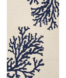 RugStudio presents Jaipur Rugs Grant I-O Bough Out Gd47 White Hand-Hooked Area Rug