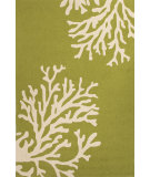 RugStudio presents Jaipur Rugs Grant I-O Bough Out Gd49 Leaf Green Hand-Hooked Area Rug