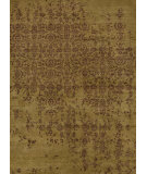 RugStudio presents Rugstudio Sample Sale 75116R Paradise Green Hand-Knotted, Good Quality Area Rug