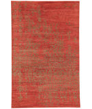 RugStudio presents Jaipur Rugs Geode Scroll Ge06 Russet Hand-Knotted, Good Quality Area Rug