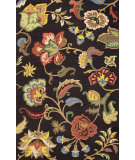 RugStudio presents Jaipur Rugs Hacienda Fiesta Hac03 Deep Charcoal Hand-Tufted, Better Quality Area Rug