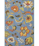 RugStudio presents Jaipur Rugs Hacienda Fiesta Hac04 Ensign Blue Hand-Tufted, Better Quality Area Rug