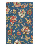 RugStudio presents Jaipur Rugs Hacienda Feria Hac05 Medium Navy Hand-Tufted, Better Quality Area Rug