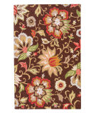 RugStudio presents Jaipur Rugs Hacienda Zamora Hac07 Dark Chocolate Hand-Tufted, Better Quality Area Rug