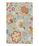 RugStudio presents Jaipur Rugs Hacienda Zamora Hac09 Light Turquoise Hand-Tufted, Better Quality Area Rug