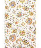 RugStudio presents Jaipur Rugs Hacienda Alma Hac13 White Hand-Tufted, Better Quality Area Rug