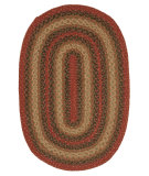 RugStudio presents Jaipur Rugs Hudson Jute Braided Rugs Vancouver Hbr08 Red/Gray Braided Area Rug