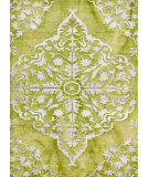 RugStudio presents Rugstudio Sample Sale 75120R Green Hand-Knotted, Good Quality Area Rug