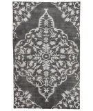 RugStudio presents Jaipur Rugs Heritage Chantilly Hr04 Charcoal Hand-Knotted, Good Quality Area Rug