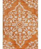 RugStudio presents Jaipur Rugs Heritage Chantilly Hr06 Pumpkin Hand-Knotted, Good Quality Area Rug