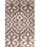 RugStudio presents Jaipur Rugs Heritage Arabesque Hr08 Wood Brown Hand-Knotted, Good Quality Area Rug