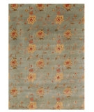 RugStudio presents Rugstudio Sample Sale 53398R Sea Blue Hand-Knotted, Good Quality Area Rug