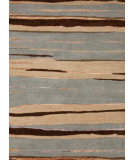 RugStudio presents Jaipur Rugs J2 Nuptse J215 Ice Blue Hand-Knotted, Good Quality Area Rug