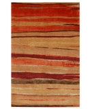 RugStudio presents Rugstudio Sample Sale 53411R Deep Rust Hand-Knotted, Good Quality Area Rug