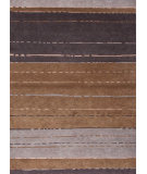 RugStudio presents Jaipur Rugs J2 Zara J255 Gray Brown Hand-Knotted, Better Quality Area Rug