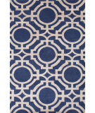RugStudio presents Jaipur Rugs J2 Manan J266 Limoges/Ivory Mist Hand-Knotted, Good Quality Area Rug