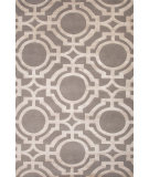 RugStudio presents Jaipur Rugs J2 Manan J267 Ashwood/Ivory Mist Hand-Knotted, Good Quality Area Rug