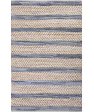 RugStudio presents Jaipur Rugs Jean Denim Jen01 Navy Blue/White Woven Area Rug