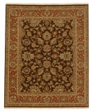 RugStudio presents Jaipur Rugs Atlantis Jhanki AL03 Tobacco/Rust Hand-Knotted, Good Quality Area Rug