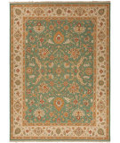 RugStudio presents Jaipur Rugs Jaimak Kolos Jm26 Newport Green / Soft Gold Hand-Knotted, Better Quality Area Rug