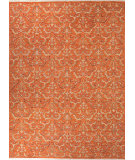 RugStudio presents Rugstudio Sample Sale 75155R Red Orange Hand-Knotted, Better Quality Area Rug