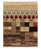 RugStudio presents Jaipur Rugs Artisan Series K18 Multi Hand-Knotted, Good Quality Area Rug