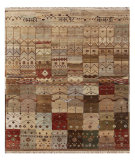 RugStudio presents Jaipur Rugs Artisan Series K44 Multi Hand-Knotted, Good Quality Area Rug
