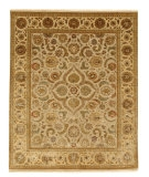 RugStudio presents Rugstudio Sample Sale 53291R Medium Ivory/Light Gold Hand-Knotted, Good Quality Area Rug
