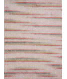 RugStudio presents Jaipur Rugs Konstrukt Streifen Kt17 Antique White Woven Area Rug