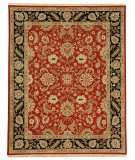 RugStudio presents Jaipur Rugs Jaimak Lerik JM05 Red/Ebony Hand-Knotted, Good Quality Area Rug