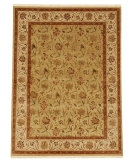 RugStudio presents Jaipur Rugs Palatine Lilly PL07 Light Green/Dark Ivory Hand-Knotted, Good Quality Area Rug