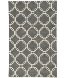 RugStudio presents Jaipur Rugs Lounge Abeet Loe08 Charcoal Hand-Tufted, Good Quality Area Rug