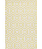 RugStudio presents Jaipur Rugs Lounge Adam Loe11 Citron & Antique White Hand-Tufted, Good Quality Area Rug