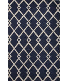 RugStudio presents Jaipur Rugs Lounge Maysoon Loe20 Blue/Ivory Hand-Tufted, Good Quality Area Rug