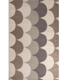 RugStudio presents Jaipur Rugs En Casa By Luli Sanchez Flat-Weave Ripple Lsf07 Classic Gray/Liquorice Flat-Woven Area Rug