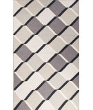 RugStudio presents Jaipur Rugs En Casa By Luli Sanchez Flat-Weave Harlequin Cube Lsf14 Liquorice/Classic Gray Flat-Woven Area Rug