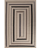 RugStudio presents Jaipur Rugs En Casa By Luli Sanchez Flat-Weave Ribbon Lsf19 Antique White/Liquorice Flat-Woven Area Rug