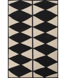 RugStudio presents Jaipur Rugs En Casa By Luli Sanchez Flat-Weave Harlequin Lsf22 Antique White & Ebony Flat-Woven Area Rug