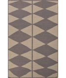 RugStudio presents Jaipur Rugs En Casa By Luli Sanchez Flat-Weave Harlequin Lsf23 Silver Gray/Liquorice Flat-Woven Area Rug