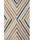 RugStudio presents Jaipur Rugs En Casa By Luli Sanchez Cornered Lst10 Antique White/Indigo Hand-Tufted, Good Quality Area Rug