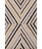 RugStudio presents Jaipur Rugs En Casa By Luli Sanchez Cornered Lst11 Dark Ivory/Black Ink Hand-Tufted, Good Quality Area Rug