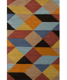 RugStudio presents Jaipur Rugs En Casa By Luli Sanchez Ojo Lst18 Sun Orange/Deep Daffodil Hand-Tufted, Good Quality Area Rug