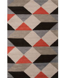 RugStudio presents Jaipur Rugs En Casa By Luli Sanchez Ojo Lst19 Dark Ivory/Deep Charcoal Hand-Tufted, Good Quality Area Rug